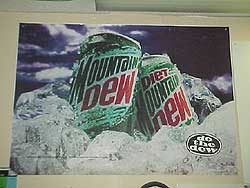 Mountain Dew Truck Decal
